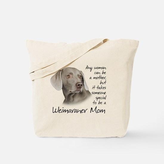 Weimaraner Mom Tote Bag