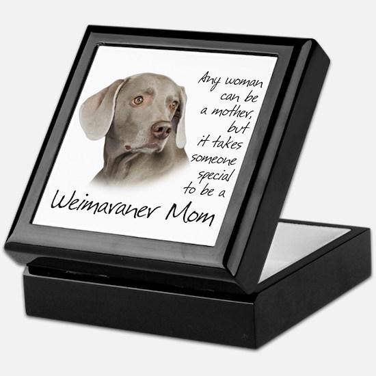 Weimaraner Mom Keepsake Box