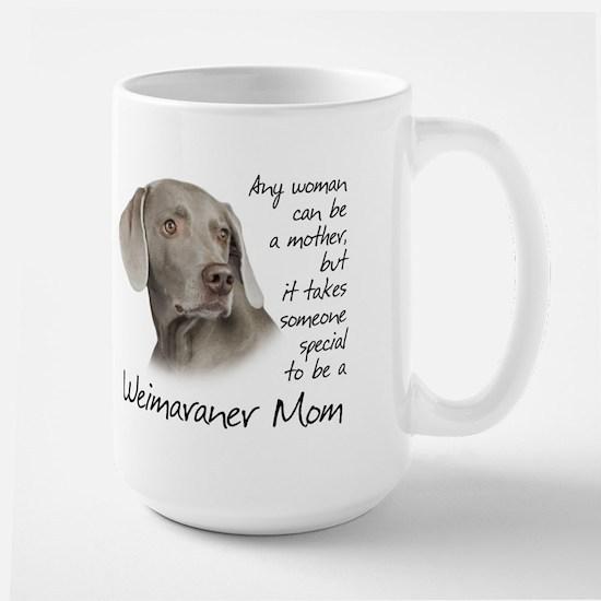 Weimaraner Mom Large Mug
