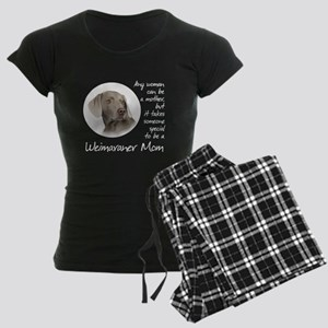 Weimaraner Mom Women's Dark Pajamas