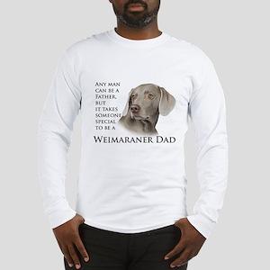 Weimaraner Dad Long Sleeve T-Shirt