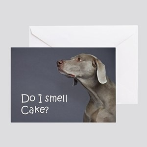 Weimaraner Birthday Card