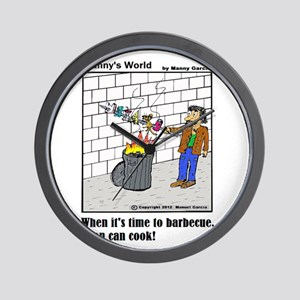WHEN IT'S TIME TO BARBECUE ME Wall Clock