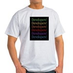 Developers (black) Ash Grey T-Shirt