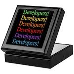 Developers (black) Keepsake Box