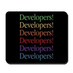 Developers (black) Mousepad