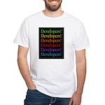 Developers (black) White T-Shirt