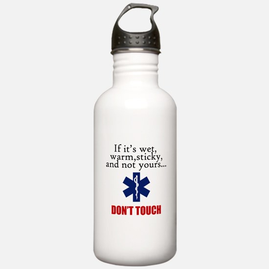 Don't Touch Water Bottle