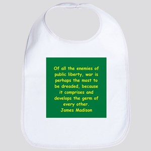 james madison Bib