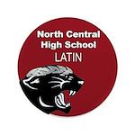 "Panther Latin 3.5"" Button"