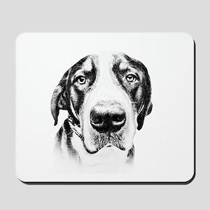 SWISS MOUNTAIN DOG - Mousepad