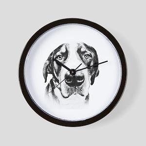 SWISS MOUNTAIN DOG - Wall Clock