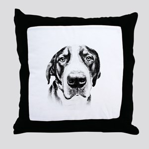 SWISS MOUNTAIN DOG - Throw Pillow