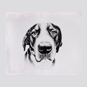 SWISS MOUNTAIN DOG - Throw Blanket