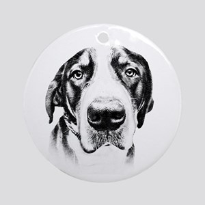 SWISS MOUNTAIN DOG - Ornament (Round)