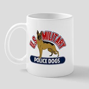 Military Police Dogs Mug