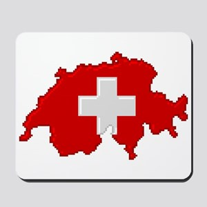 """Pixel Switzerland"" Mousepad"