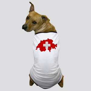 """Pixel Switzerland"" Dog T-Shirt"
