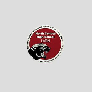 Panther Latin Mini Button