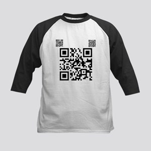 Twilight Fan QR Code by Twiba Kids Baseball Jersey