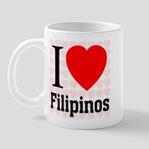 I Love Filipinos Mug