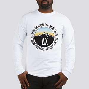 Delta Chi Mountain Sunset Long Sleeve T-Shirt