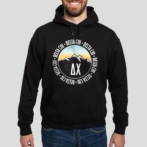 Delta Chi Mountain Sunset Hoodie (dark)