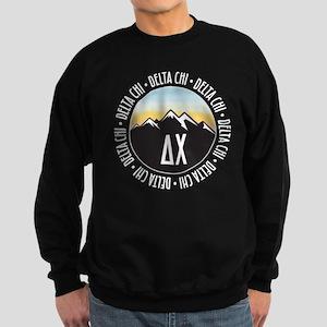Delta Chi Mountain Sunset Sweatshirt (dark)