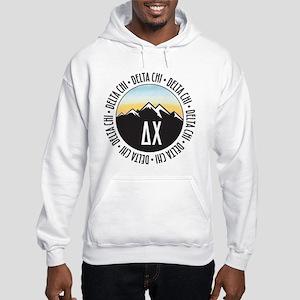 Delta Chi Mountain Sunset Hooded Sweatshirt