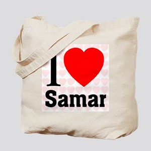 I Love Samar Tote Bag