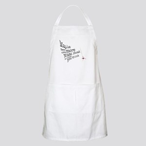 Maybe there's a little more Apron