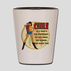 CHILE Shot Glass
