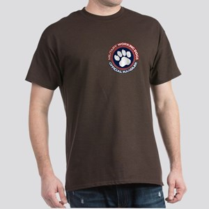 2-Sided Working Dogs Dark T-Shirt