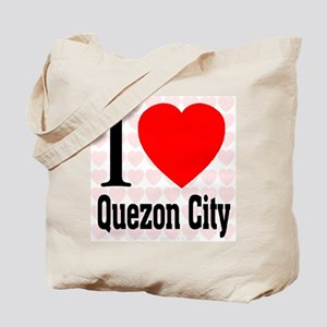I Love Quezon City Tote Bag