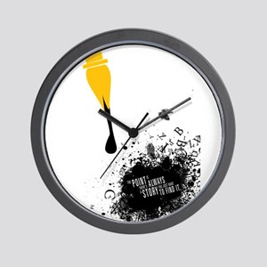 There's always a story Wall Clock