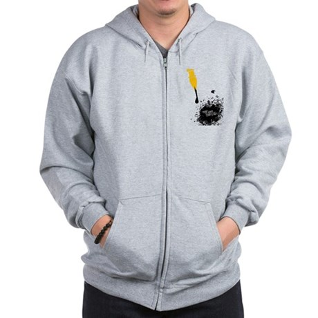 There's always a story Zip Hoodie