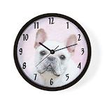 French Bulldog (Cream/White) Wall Clock