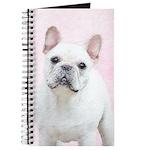 French Bulldog (Cream/White) Journal