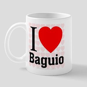 I Love Baguio Mug