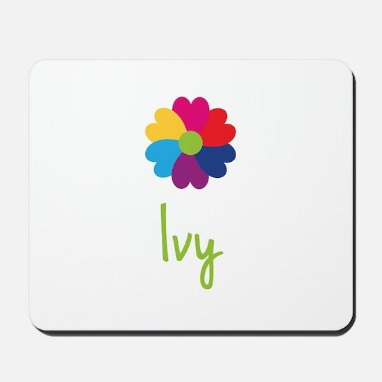Ivy Valentine Flower Mousepad