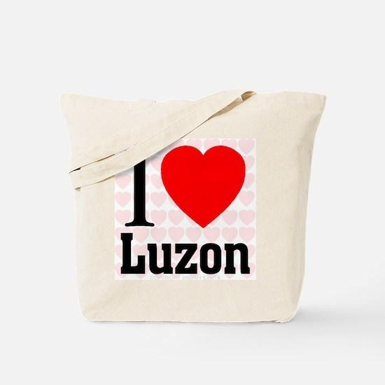 I Love Luzon Tote Bag