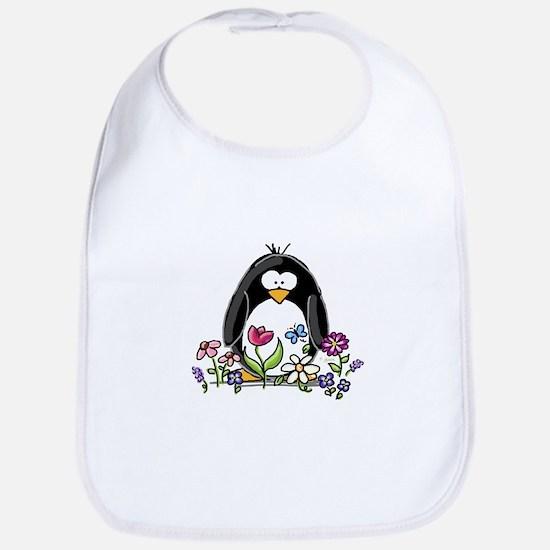 Garden penguin Bib