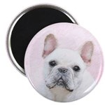 French Bulldog (Cream/White) Magnet