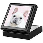 French Bulldog (Cream/White) Keepsake Box