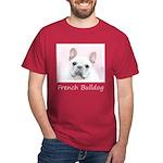 French Bulldog (Cream/White) Dark T-Shirt