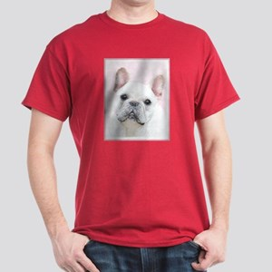 French Bulldog (Cream/White) Dark T-Shirt