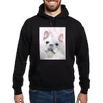 French Bulldog (Cream/White) Hoodie (dark)