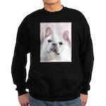 French Bulldog (Cream/White) Sweatshirt (dark)