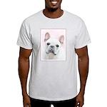 French Bulldog (Cream/White) Light T-Shirt