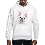 French Bulldog (Cream/White) Hooded Sweatshirt